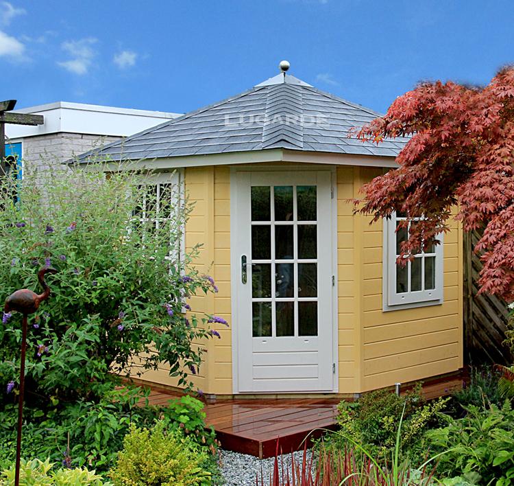Lugarde Tuinhuis P563 van Noord Europees Vurenhout