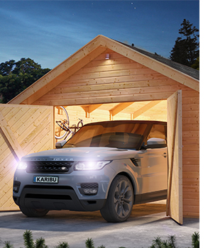 Carports, garages